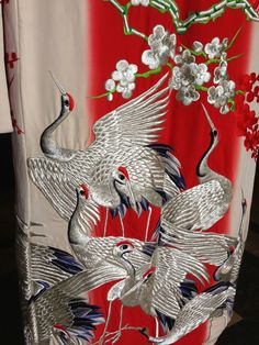 Uchikake or Wedding Kimono Detail | eBay