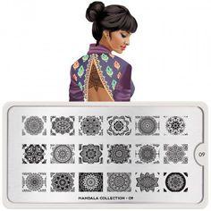 Mandala Nail Art Design 09