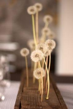 Centerpiece - Wedding Ideas: modern-yellow-gray-brown-literary-theme-loft-wedding