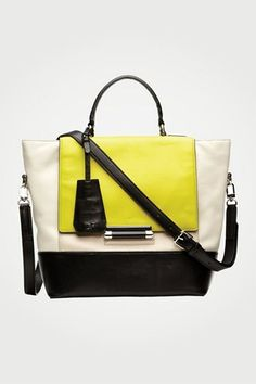 440 Top Handle Small Satchel | Bags by DVF