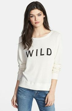 Wildfox 'Wild Beach' Knit Sweater available at #Nordstrom