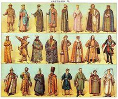 Costumes Kievan Rus