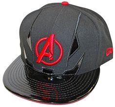 Black Snapback, Snapback Cap, Marvel Hats, Dope Hats, Superhero Villains, New Era Fitted, New Era 59fifty, Geek Fashion, Fitted Caps