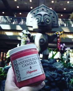 Any other resort and this statue just wouldn't work but at the Poly it's  Bonus points if you know his name (and yes he has one!)!!  Polynesian features the same fresh and clean Hibiscus blend used in Disney's Polynesian Village Resort! SHOP LINK IN BIO    #anthologycandles #polynesian #disneyresort #polynesianvillage #ohana #igers #igers_wdw #disneyblogger #instadisney #disnerd #disnerds #disneyfeature #disneygift #waltdisneyworld #disneyworld #tiki  #disneyinspired #wdwbde #wdw_bde…
