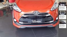 Review:  All New Toyota Sienta 2016 Type Q CVT Orange Metallic Color  Ex...
