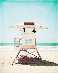 Lifeguard Stand Beach Photography by carolyncochrane.com