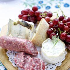 cheese & salami platter