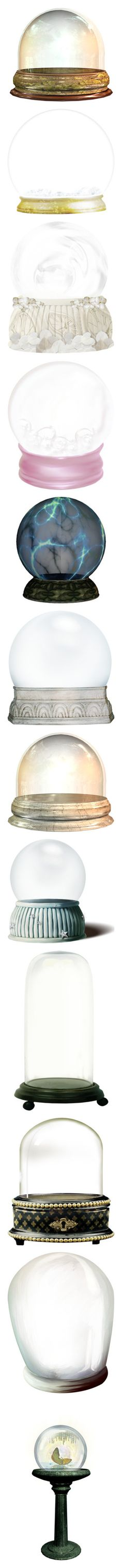 Christmas Ornaments Snow Globes My Polyvore Finds