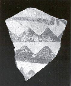 Sherd  Period:Chalcolithic Date:5th–4th millennium B.C. Geography:Iran, Nishapur Culture:Iran Medium:Ceramic Dimensions:2.68 x 0.31 in. (6.81 x 0.79 cm) Classification:Ceramics-Vessels