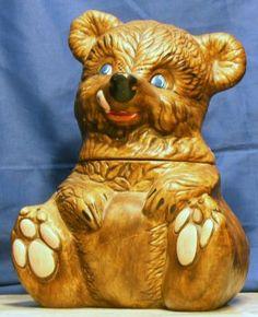 Bear Cookie Jar # 405 by California Originals