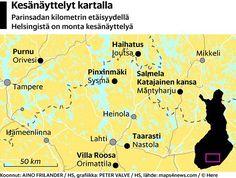 Lähde kesänäyttelykierrokselle! HS vinkkaa 7 kiinnostavaa näyttelyä 200 kilometrin säteellä Helsingistä - Kulttuuri - Helsingin Sanomat