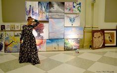 Abstract, Modern, Original, Oil, and Acrylic Painting. Sisters Art, Soul Sisters, Denton Texas, All Band, Acrylic Art, Bird Art, Art Day, Good Music, New Art