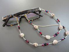 Beaded Skull Spectacle Chain £12.00