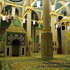 """Masjid Al Nabawi,Madinah. Love this place. Been there in 2013, hope to visit """"Masjid of the Prophet Muhammad ﷺ"""" again soon"""