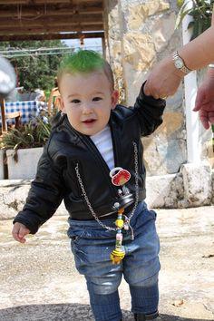 outfit rocker bebe niño - Buscar con Google