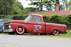 I totally prefer this finish color for this %%KEYWORD%% Vintage Pickup Trucks, Classic Ford Trucks, Ford Pickup Trucks, Car Ford, Single Cab Trucks, Shop Truck, Cool Trucks, Grease, 1964 Ford