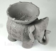 35 Cute Pottery Animal Ideas 3