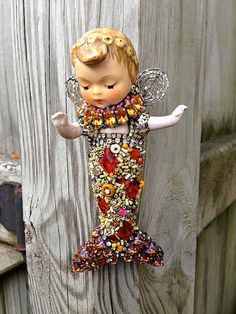 Meredith the Merfaerie by Betsy Youngquist by betsyyoungquist, $375.00