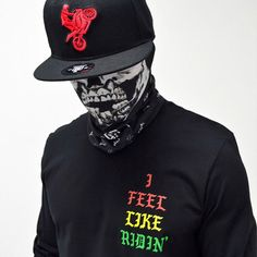 """1,018 Likes, 10 Comments - Ride Rich® #RideRich (@riderich) on Instagram: """"Ride Rich® All Day Every Day L/S Tee + I Love Ridin' SnapBack + Mutilated Skull Rich Wrap + Shop…"""""""
