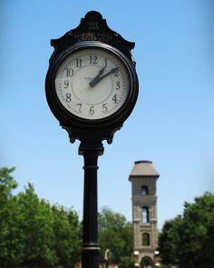 Howard Payne University, Campus Clock   8x10 Photo Print  by Tealcheesecake, $18.00