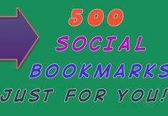 anduriancj: do social BOOKMARKING to 500 sites and ping all the links for $5, on fiverr.com