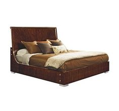 BED, 6/6 (King) from the Scene Six collection by Henredon Furniture