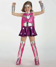 Look at this #zulilyfind! Wonder Woman Dress-Up Set - Toddler & Kids #zulilyfinds
