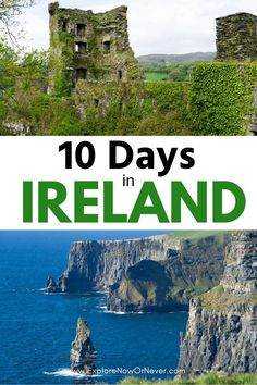 Planning the perfect Ireland road trip itinerary doesn't have to be stressful or overwhelming. Europe Travel Guide, Travel Guides, Travel Destinations, Budget Travel, Ireland Vacation, Ireland Travel, Scotland Travel, Scotland Trip, Wales