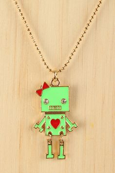 Beauty-Bot Necklace - why the heck not!