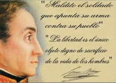 Simón Bolívar : A los valerosos meridianos 21 de junio de 1813 http://oscurvelibertador.blogspot.com