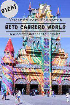 Dicas práticas para uma viagem econômica ao Beto Carrero World - Brasil.
