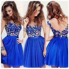 Dark blue party dress xx