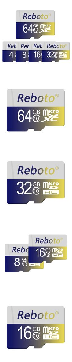 100% Original Reboto micro SDHC Memory Card Class 4 micro SD Card TF Card 32GB 16GB 8GB For Android Smartphone&Tablet