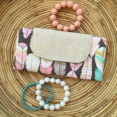 Women's Wallet-Slim Wallet Ladies by MadebyKristyC on Etsy
