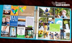 Susan Weinroth - love the cut down insert for extra photos!