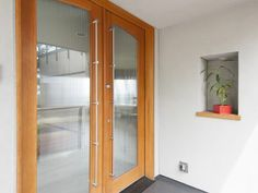 Northwest Heights Area Residential: Contemporary Entry With High Ceilings