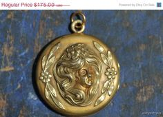 40% OFF 1 Day Only Antique Repousse Gold Filled  by Yourgreatfinds