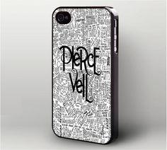 Pierce The Veil Lyric iPhone 4 Case, iPhone