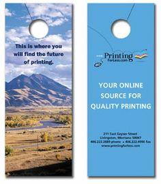 Convey Important Messages Through Door Hangers Doorhangers