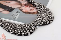 YL0015 2013 Handmade Pearl False Collar Necklaces Fashion Jewelry Choker For Women Wholesale-in Choker Necklaces from Jewelry on Aliexpress....
