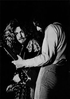 """hot-in-the-shade: """"""""Robert Plant & Jimmy Page (March, """" """" El Rock And Roll, Page And Plant, Robert Plant Led Zeppelin, John Bonham, John Paul Jones, Greatest Rock Bands, Famous Musicians, Mary And Jesus, Jimmy Page"""