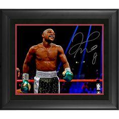 "Floyd Mayweather Fanatics Authentic Framed Autographed 16"" x 20"" Strut Walk Photograph"