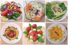 "Gourmandises au parfum de Madagascar: Mes salades ""detox"" multicolores"