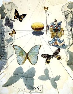 Salvador Dali:Silk Allegory