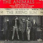 "The Animals~""The house of the Rising Sun"" 1964"