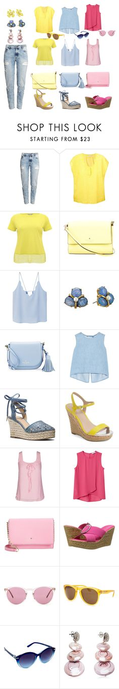 """""""Choices"""" by sillycatgrl on Polyvore featuring H&M, Roberto Collina, M&Co, Kate Spade, MANGO, Steve J & Yoni P, MICHAEL Michael Kors, Charles by Charles David, City Chic and Patrizia"""