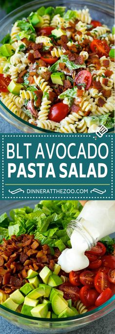 dinneratthezoo avocado recipe dinner pasta salad bacon easy blt BLT Pasta Salad Recipe Easy Pasta Salad Bacon Pasta SaladYou can find Easy healthy dinner ideas and more on our website Easy Pasta Salad Recipe, Chicken Salad Recipes, Easy Salads, Healthy Salad Recipes, Blt Recipes, Cold Pasta Recipes, Healthy Pasta Dishes, Chef Salad Recipes, Healthy Pasta Salad