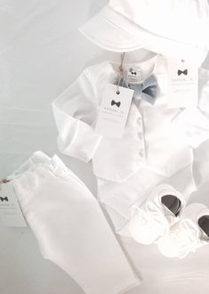 First Communion Outfits Baby Boy Baptism Formal Event Summer Short Sleeve T-Shirt Shorts Vest Embroidered Dove Cap Set