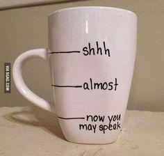 Father's Day mug.