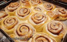 Cinnabon – amerikai fahéjas tekercs recept fotóval